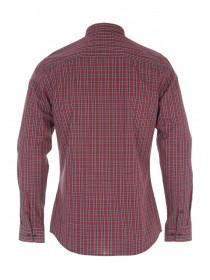 Mens Long Sleeve Tartan Check Shirt