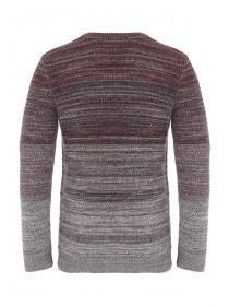 Mens Ombre Knit Cotton Jumper