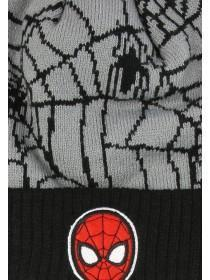 Younger Boys Spiderman Hat And Glove Set