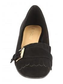 Womens Kiltie Low Heel Shoe