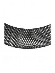 Womens Wide Mesh Choker