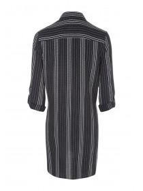 Maternity Black Stripe Shirt