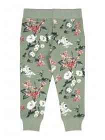 Younger Girls Khaki Floral Joggers
