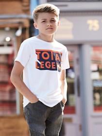 Older Boys White Total Legend T-Shirt