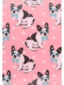 Womens French Bulldog Cosmetic Bag