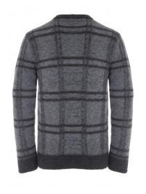 Mens Charcoal Soft Touch Jumper