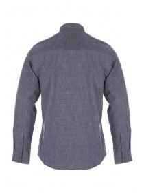 Mens Long Sleeve Brushed Texture Shirt