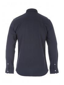 Mens Charcoal Long Sleeve Quilted Shacked