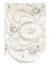 Womens Silver Filigree Bracelet