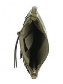 Womens Khaki Blondie Cross Body Bag