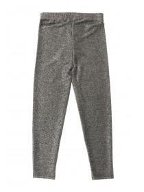 Older Girls Silver Lurex Legging