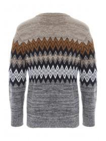Mens Multi Fairisle Jumper