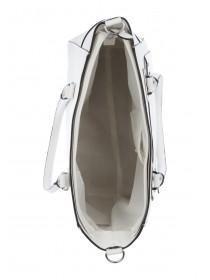 Womens White Sharp Tote Bag