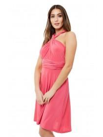Jane Norman Pink Multiway Short Dress