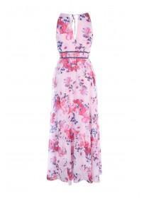 Jane Norman Pink Floral Maxi Dress