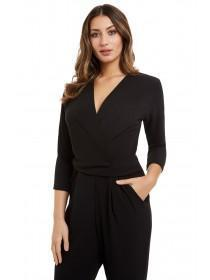 Jane Norman Black Wrap Jumpsuit