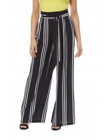 Jane Norman Striped Wide Leg Trousers