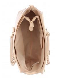 Womens Cream Tote Bag