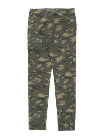 Older Girls Camo Combat Trousers