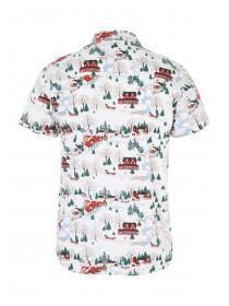 Mens Snow Scene Shirt