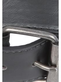Mens Black Comfort Stretch Belt