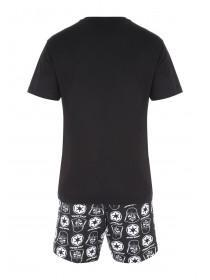 Mens Star Wars Darth Vader Top & Short Pyjama set