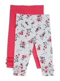 Baby Girls 2Pk Leggings