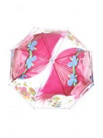 Younger Girls Pink Trolls Umbrella