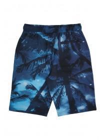 Older Boys Blue Sublimation Shorts