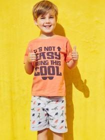 Younger Boys 2PK Not Easy T-Shirts