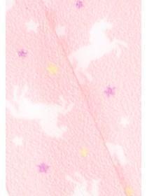 Womens Pink Unicorn Lanyard