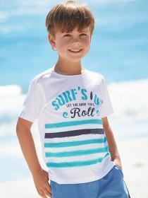 Younger Boys 2PK Surfs Up Slub T-Shirts