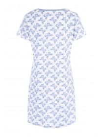 Womens Blue Butterfly Nightdress