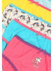 Girls 5pk Unicorn Briefs