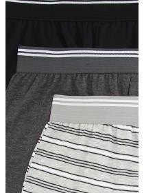 Older Boys 3pk Monochrome Boxers