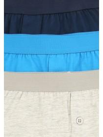 Older Boys 3pk Blue Boxers