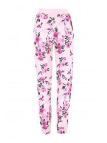 Womens Floral Lounge Trousers