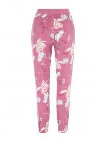 Womens Pink Soft Touch Lounge Bottoms