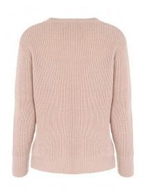 Womens Pale Pink Jumper