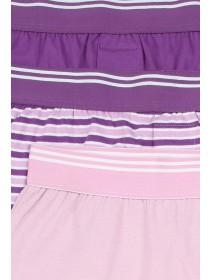 Mens 3pk Purple Loose Fit Boxers