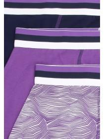 Mens 3pk Purple Briefs