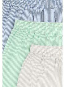 Mens 3pk Striped Boxers