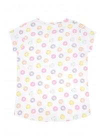 Older Girls Donuts Slogan Pyjama Set
