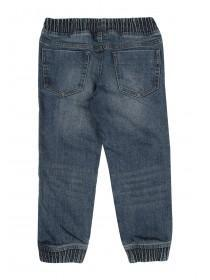Younger Boys Blue Biker Jeans