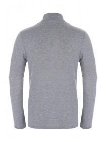 Men Long Sleeve Roll Neck Jersey