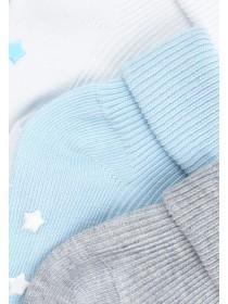 Baby Boys 5pk Blue Socks