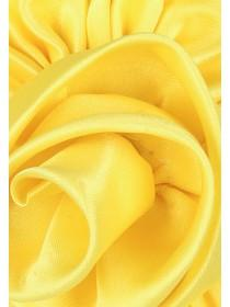 Girls Yellow Daffodil Corsage Clip