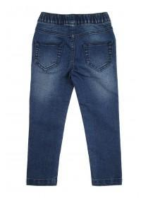 Younger Girls Dark Blue Jeggings