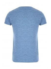 Mens Blue Slim Fit T-Shirt