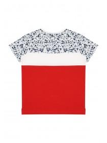 Older Boys Red Splatter Slogan T-Shirt